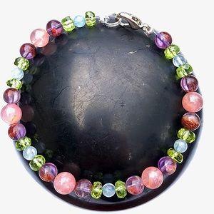 Jewelry - New Listing! Genuine Multi-Gemstone Bracelet!